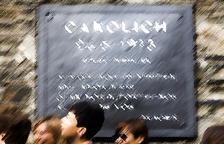 'Canòlich', amb 'h'