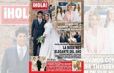 '¡Hola!' publica l'exclusiva de la comunió de les filles de Thyssen a Andorra