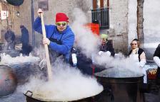 Canillo i Encamp fan la tradicional escudellada
