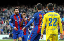 El Barça s'exhibeix contra Las Palmas