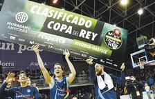 El MoraBanc s'enfrontarà al Madrid als quarts de final de la Copa