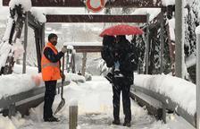 El descens de temperatura previst per demà pot complicar la mobilitat a tot el país