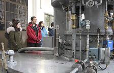 FEDA mostra les entranyes de la central hidroelèctrica
