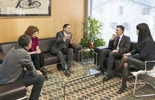 El jutge armeni a Estrasburg visita el Consell General