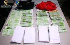 La guàrdia civil comissa més de 130.000 euros provinents del Principat