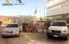 Comissats 21.000 paquets de tabac provinents del Principat