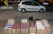 Comissats 3.000 paquets de tabac de contraban a la Seu d'Urgell