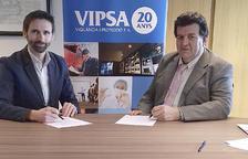 L'Assandca rep un donatiu de 2.000 euros de Vipsa
