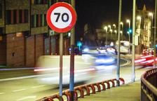 El límit de velocitat a la Bartra puja a 70 per hora