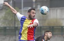 Jordi Betriu condueix l'FC Andorra a la victòria contra un voluntariós Hermes