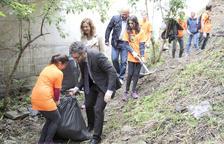 Jornada d'acció de neteja al medi natural a Encamp