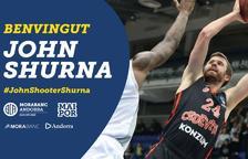El MoraBanc Andorra fa oficial el fitxatge de Shurna