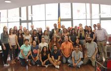 27 estudiants internacionals aixequen el teló del setzè Campus universitari de català