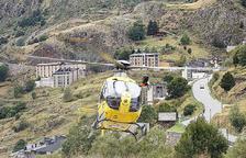 Rescaten una jove ferida al turmell a la vall d'Incles