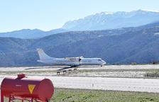 L'aerolínia Swiftair garanteix vols regulars a l'aeroport