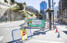 Les obres al carrer Creu Grossa de la capital s'acabaran la setmana que ve