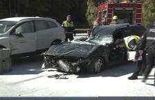 Cinc ferits en un accident a l'Aldosa de Canillo
