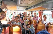 Els infants marxen a l'illa de la Reunió 15 dies