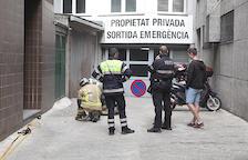 Una cassola al foc obliga els bombers a intervenir