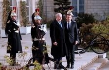 Macron demana a Netanyahu aturar la colonització com a gest de pau