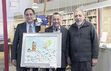 El centre d'art recorda el pintor Lluís Bardají
