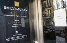 Quitança del 20% del capital als clients de Banco Madrid
