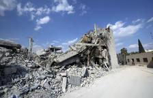 Els Estats Units, França i el Regne Unit ataquen el règim d'Al-Assad