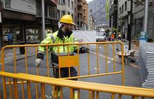 Les obres de remodelació del primer tram de l'avinguda Carlemany s'allargaran fins a l'agost