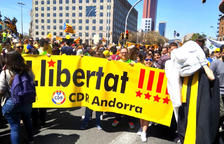 El CDR d'Andorra es manifesta a Barcelona
