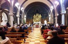 Un centenar de persones al funeral de Samuel Prada
