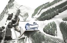 El vial d'accés al futur aparcament de Soldeu costarà 400.000 euros
