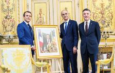 La visita de Macron facilita avançar les eleccions a Martí