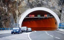 Tancament de túnels per tasques de neteja de nit