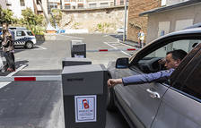 Nou aparcament comunal a l'avinguda de les Escoles