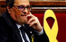 El Parlament rebutja la investidura de Quim Torra en primera votació