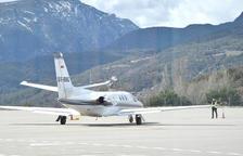 Els bombers s'encarregaran de la seguretat en els vols comercials d'Andorra-La Seu