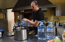 Presència d'oli i greixos a l'aigua de boca d'Oliana