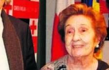 Mor Manela Mora, fundadora del comitè d'Unicef a Andorra