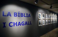 Visita nocturna a 'La Bíblia i Chagall'