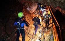 Rescatats amb èxit quatre dels nens de la cova del nord de Tailàndia