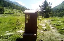 S'instal·la senyalització a Madriu-Perafita-Claror