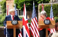 Trump i May volen arribar a acords comercials després del Brexit
