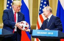 """Trump i Putin recuperen a Hèlsinki la """"confiança"""" a """"nivell acceptable"""""""