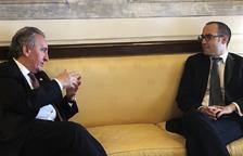 Bartumeu es reuneix amb polítics de San Marino