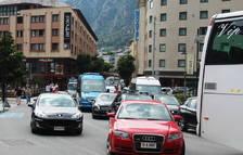El comú prohibirà la circulació d'autobusos a l'avinguda Meritxell