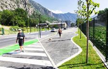 L'avinguda d'Enclar ja presenta un aspecte renovat