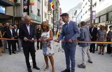 Inauguració de la nova avinguda Meritxell