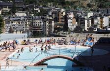 Impermeabilització a la piscina dels Serradells