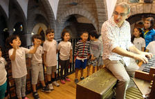 Els petits escaldencs descobreixen l'orgue de Sant Pere Màrtir