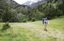 Recomanen no sortir a la muntanya amb mal temps